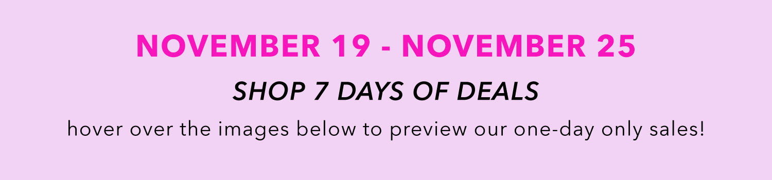 our biggest discounts of the year - November 19 - November 25