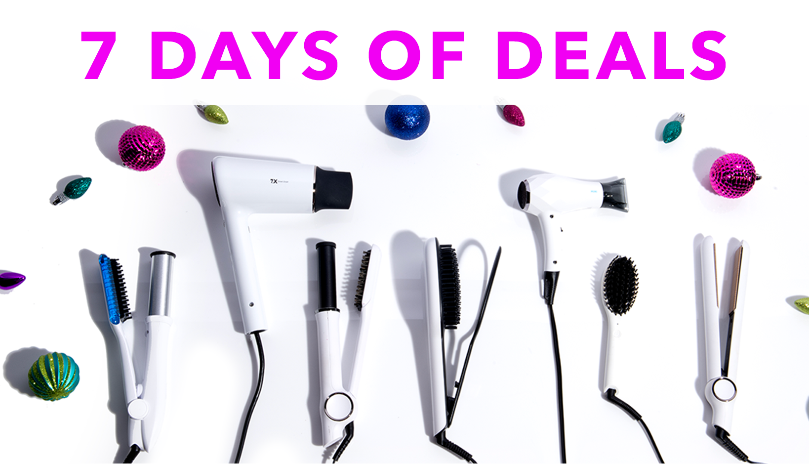 7 Days of Deals - Starting November 21 - 28. Biggest Discounts Ever!