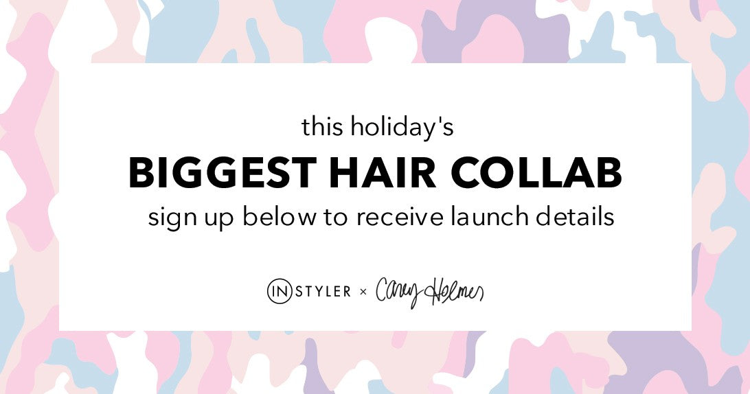 InStyler x Casey Holmes collab. Get launch details for our first hair tool collab with YouTube Creator and Beauty Enthusiast