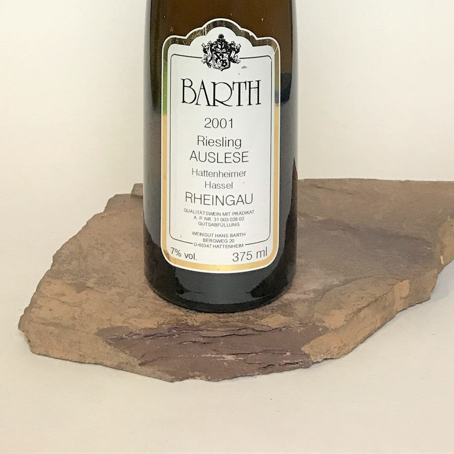 2001 BARTH Hattenheim Hassel, Riesling Auslese Goldkapsel Auction 375 ml