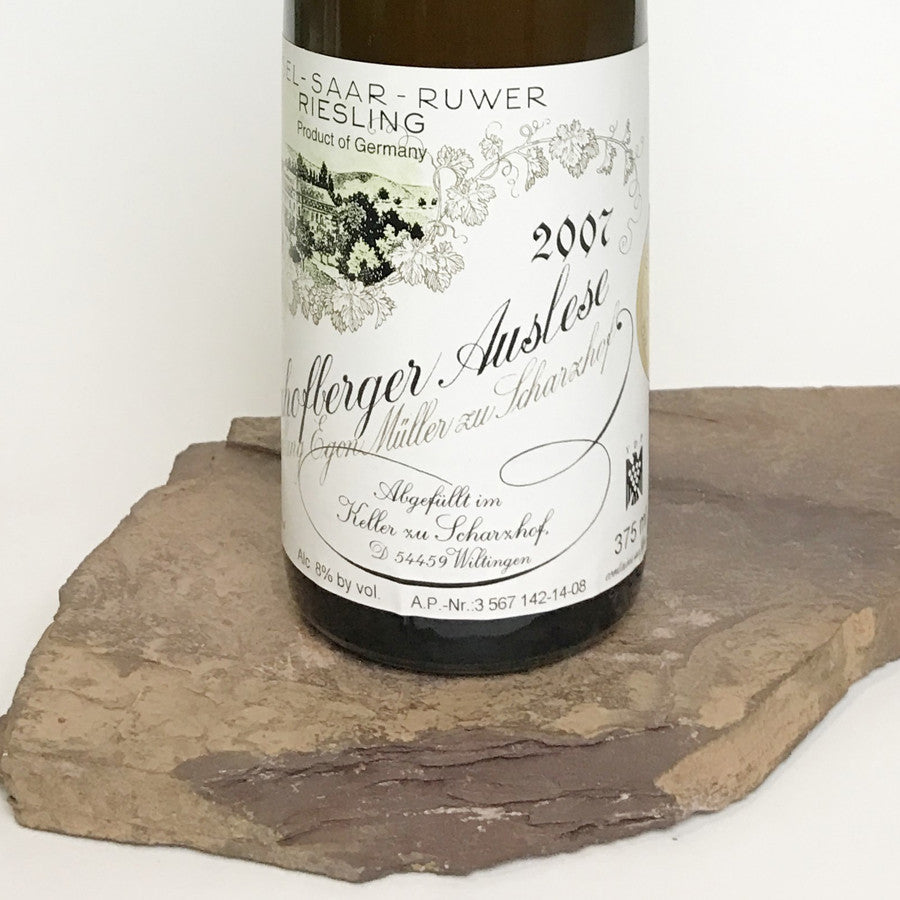 2007 EGON MÜLLER Scharzhofberg, Riesling Auslese Goldkapsel Auction