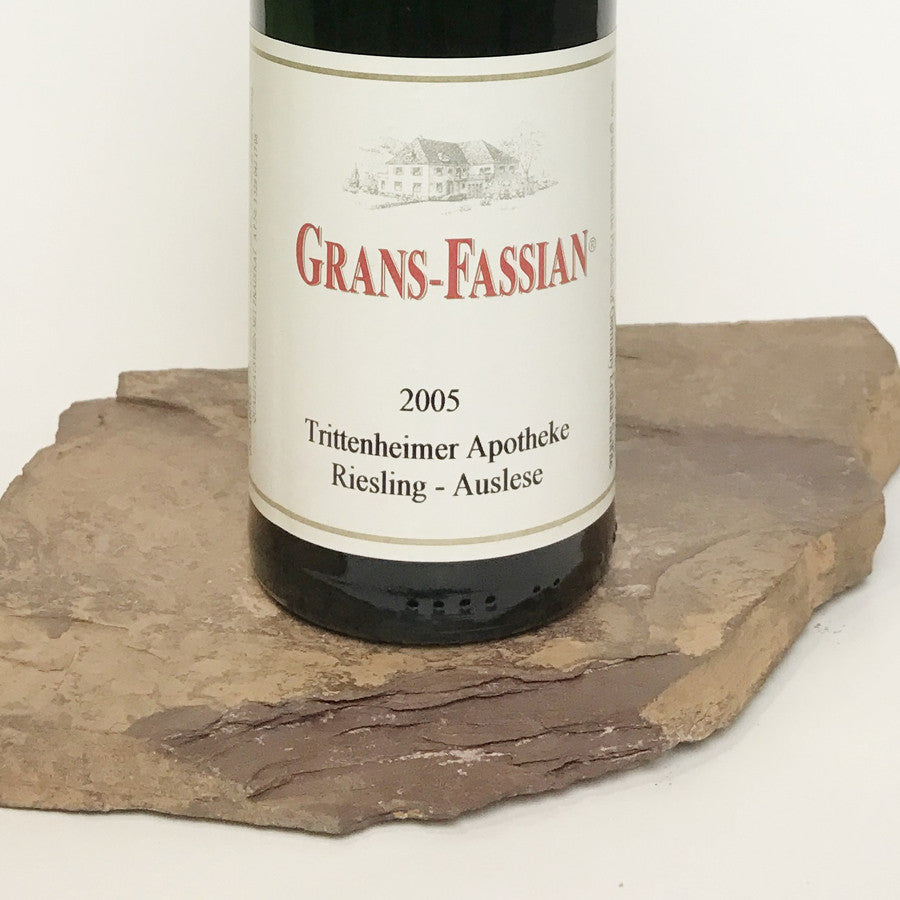 2005 GRANS-FASSIAN Trittenheim Apotheke, Riesling Auslese Long Goldkapsel Auction 375 ml