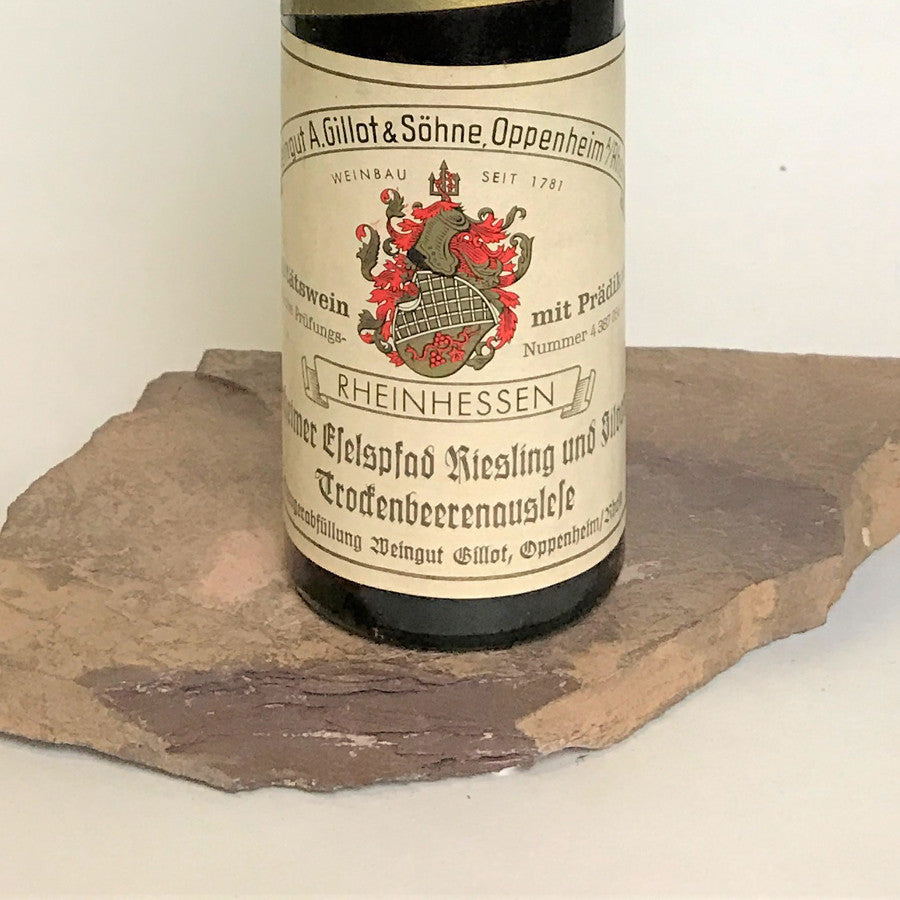 1971 A. GILLOT Dienheim Eselspfad, Riesling and Silvaner Trockenbeerenauslese (Balz Collection) ...