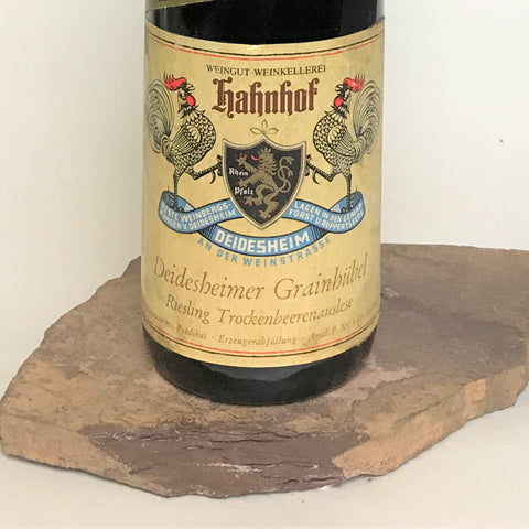 1971 HEINRICH PIEROTH Burg Layen Hölle, Huxelrebe Trockenbeerenauslese (Balz Collection) 350 ml