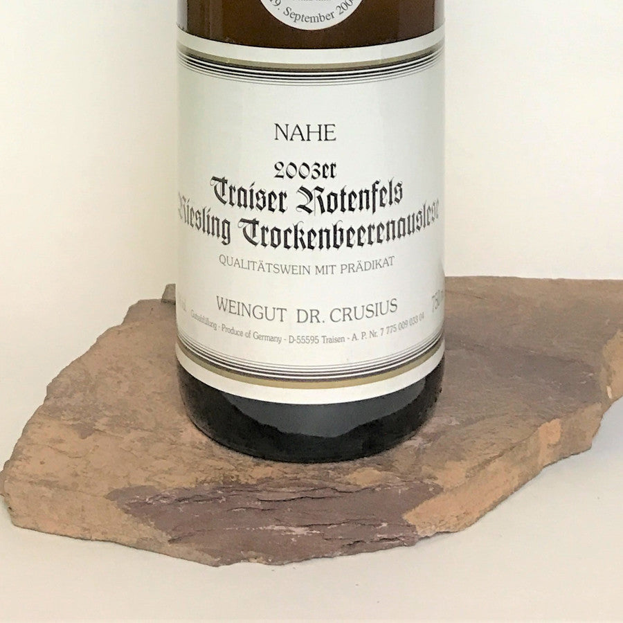 2003 DR. CRUSIUS Traisen Rotenfels, Riesling Trockenbeerenauslese Auction