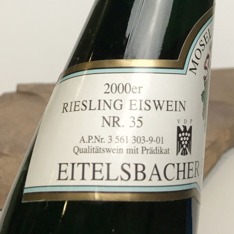 2000 VON OTHEGRAVEN Kanzem Altenberg, Riesling Auslese Long Goldkapsel Auction 375 ml