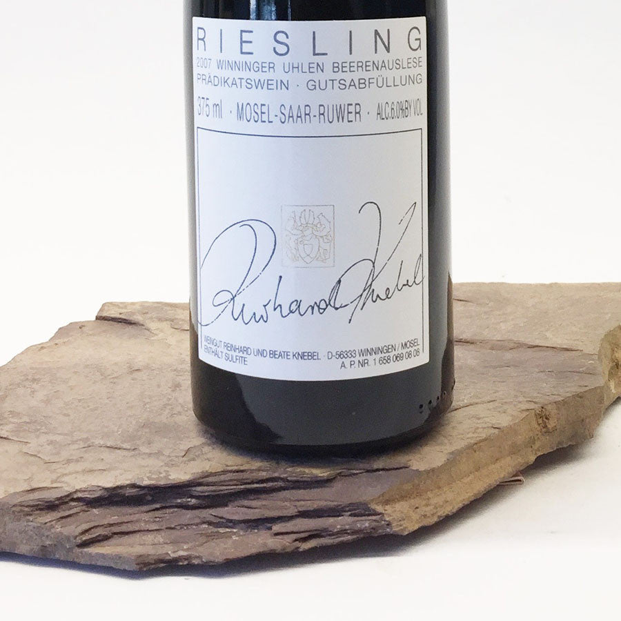 2007 KNEBEL Winningen Uhlen, Riesling Beerenauslese 375 ml
