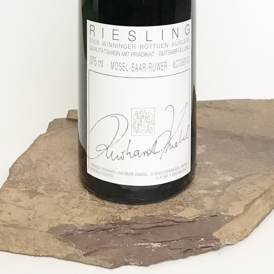 2006 KNEBEL Winningen Röttgen, Riesling Auslese Auction 375 ml