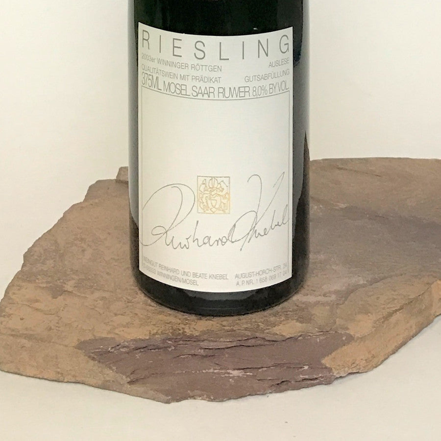 2003 KNEBEL Winningen Röttgen, Riesling Auslese Auction 375 ml