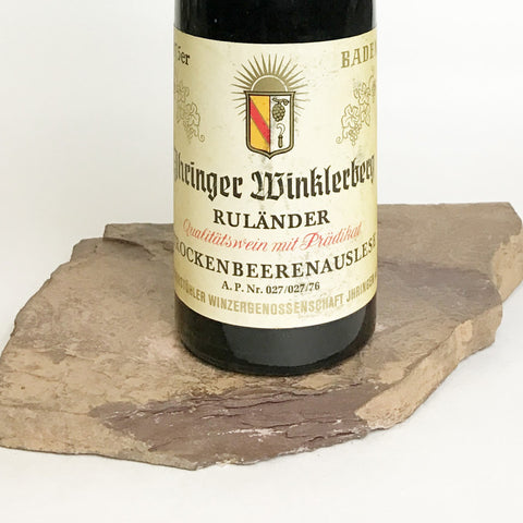 1975 LINUS HAUB Bodenheim Burgweg, Optima Trockenbeerenauslese (Balz Collection) 350 ml