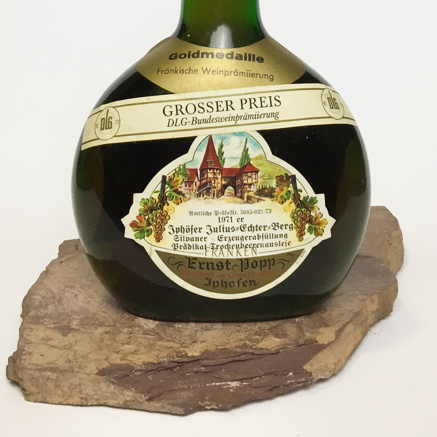 1971 ERNST POPP Iphofen Julius-Echter-Berg, Silvaner Trockenbeerenauslese (Balz Collection) 350 ml