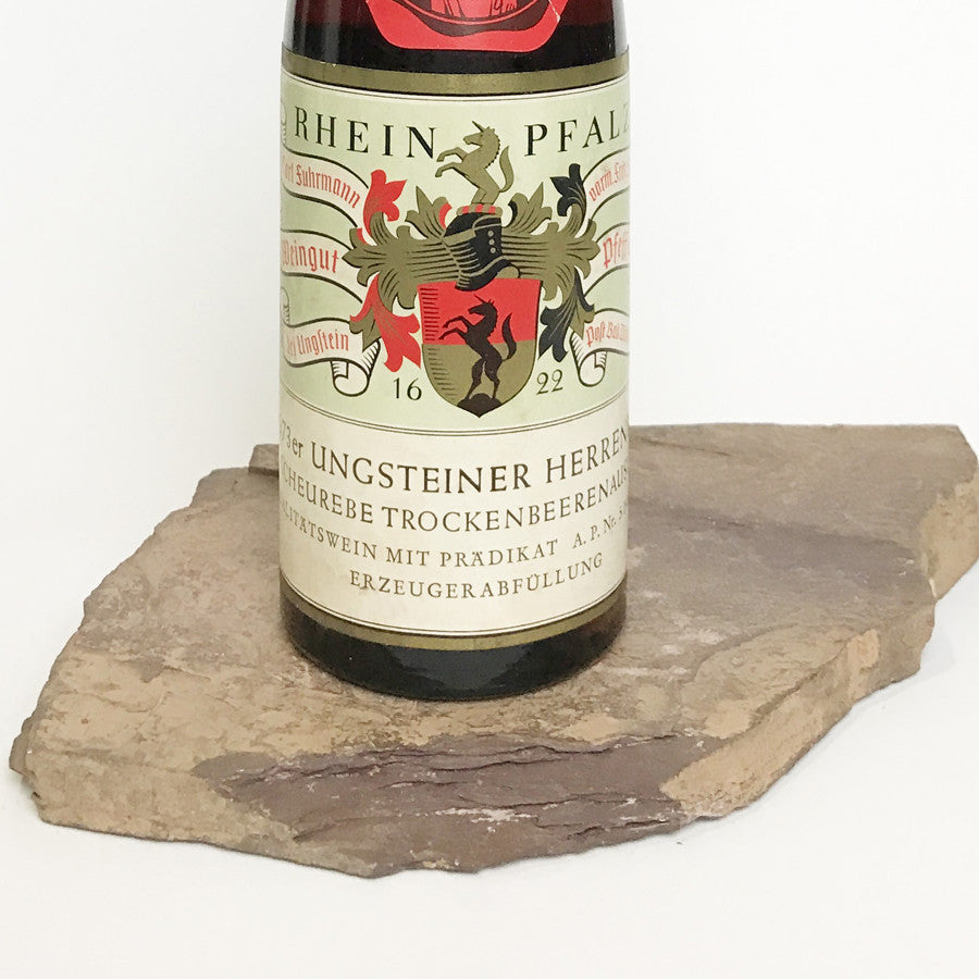 1973 PFEFFINGEN Ungstein Herrenberg, Scheurebe Trockenbeerenauslese (Balz Collection) 350 ml