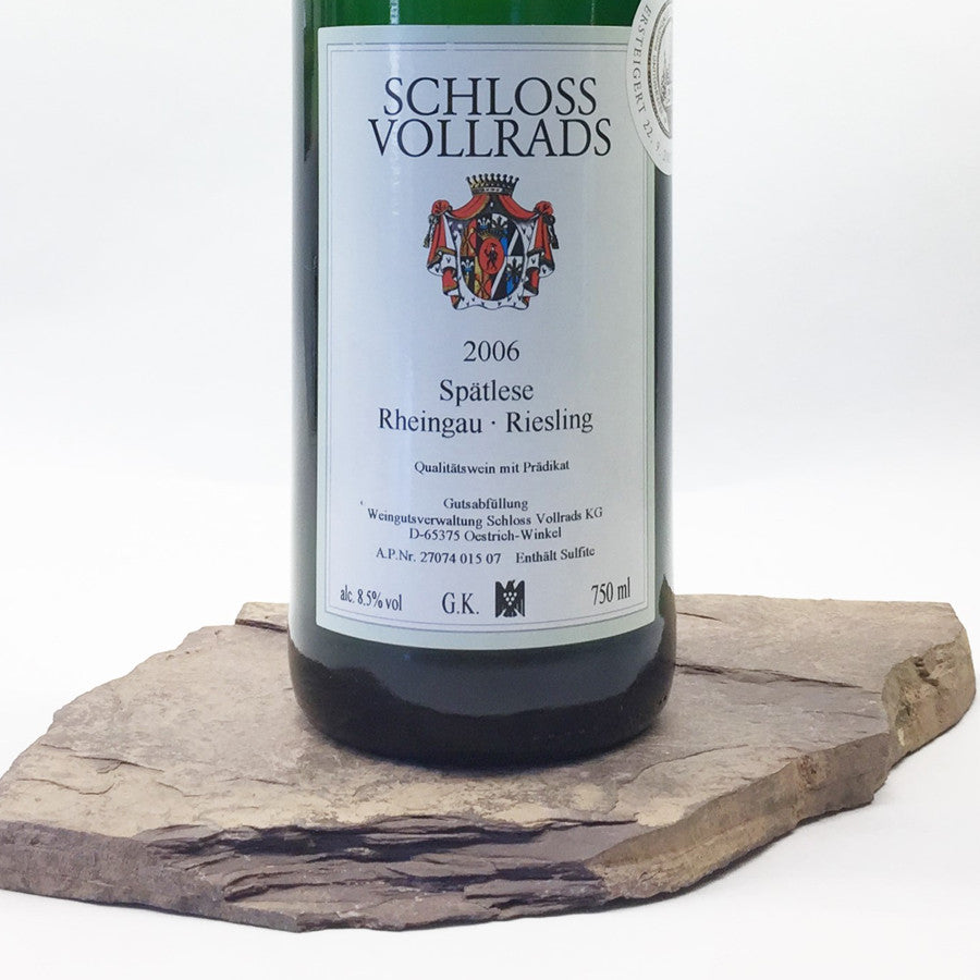 2006 SCHLOSS VOLLRADS Riesling Spätlese Goldkapsel Auction