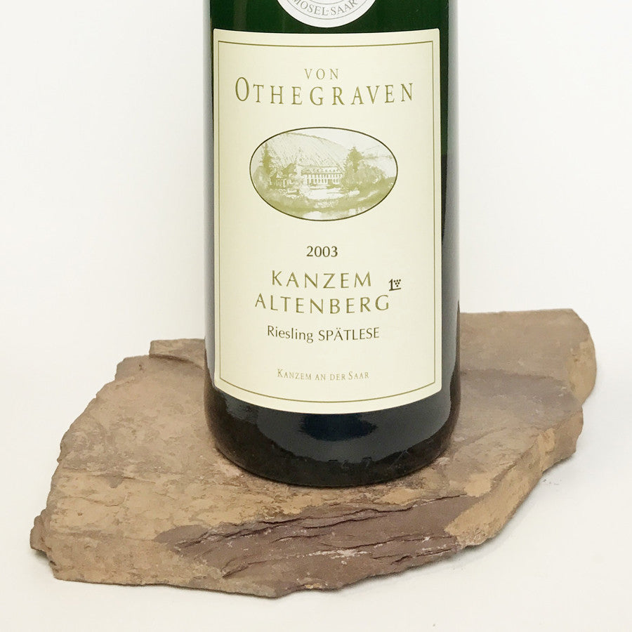 2003 VON OTHEGRAVEN Kanzem Altenberg, Riesling Spätlese Auction