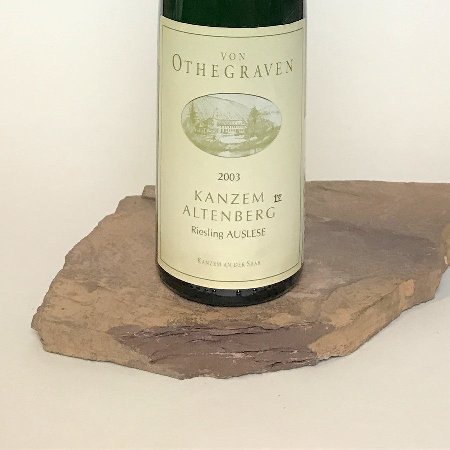 2003 VON OTHEGRAVEN Kanzem Altenberg, Riesling Auslese Goldkapsel Auction 375 ml