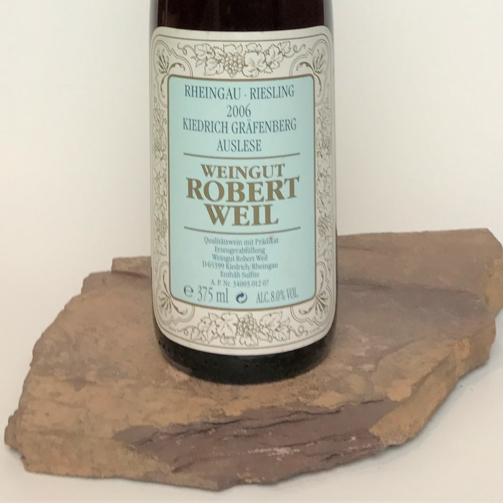 2006 ROBERT WEIL Kiedrich Gräfenberg, Riesling Auslese Goldkapsel Auction 375 ml