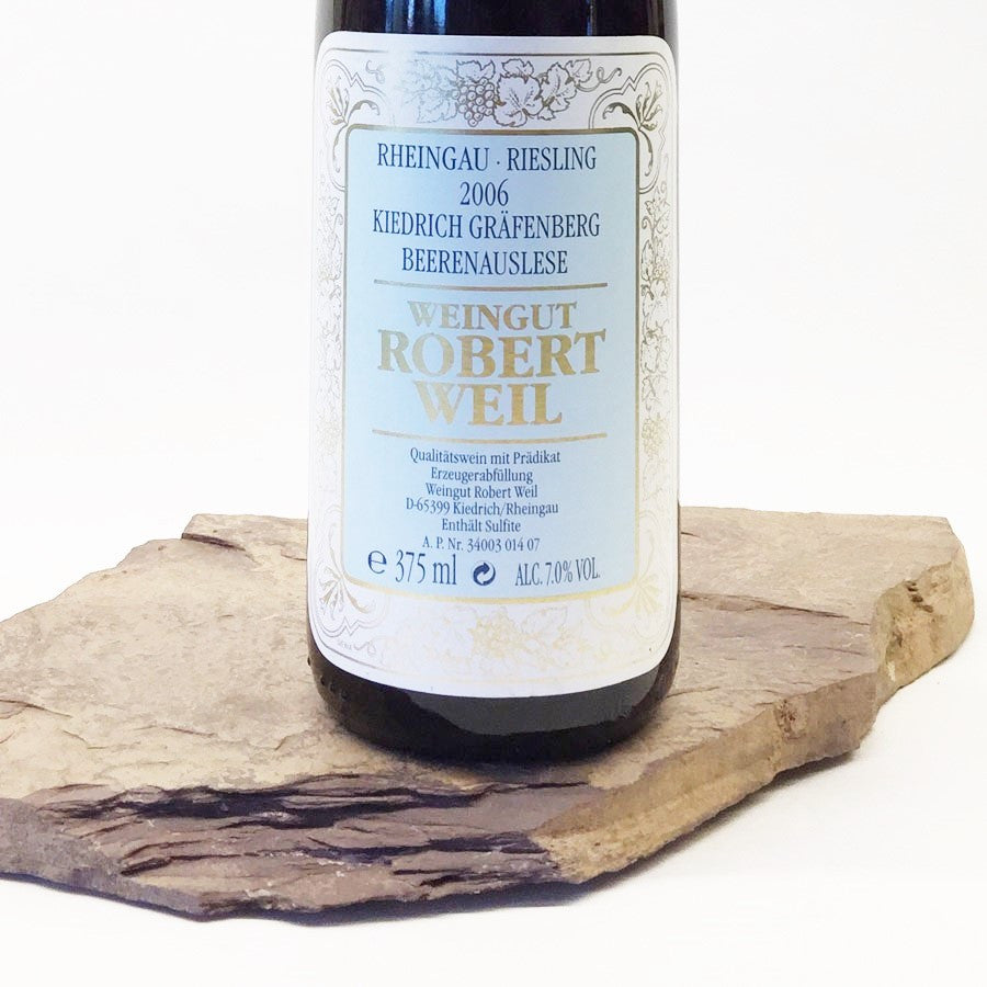 2006 ROBERT WEIL Kiedrich Gräfenberg, Riesling Beerenauslese Goldkapsel Auction 375 ml