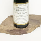 2000 WILLI HAAG Brauneberg Juffer Sonnenuhr, Riesling Auslese Goldkapsel Auction 375 ml