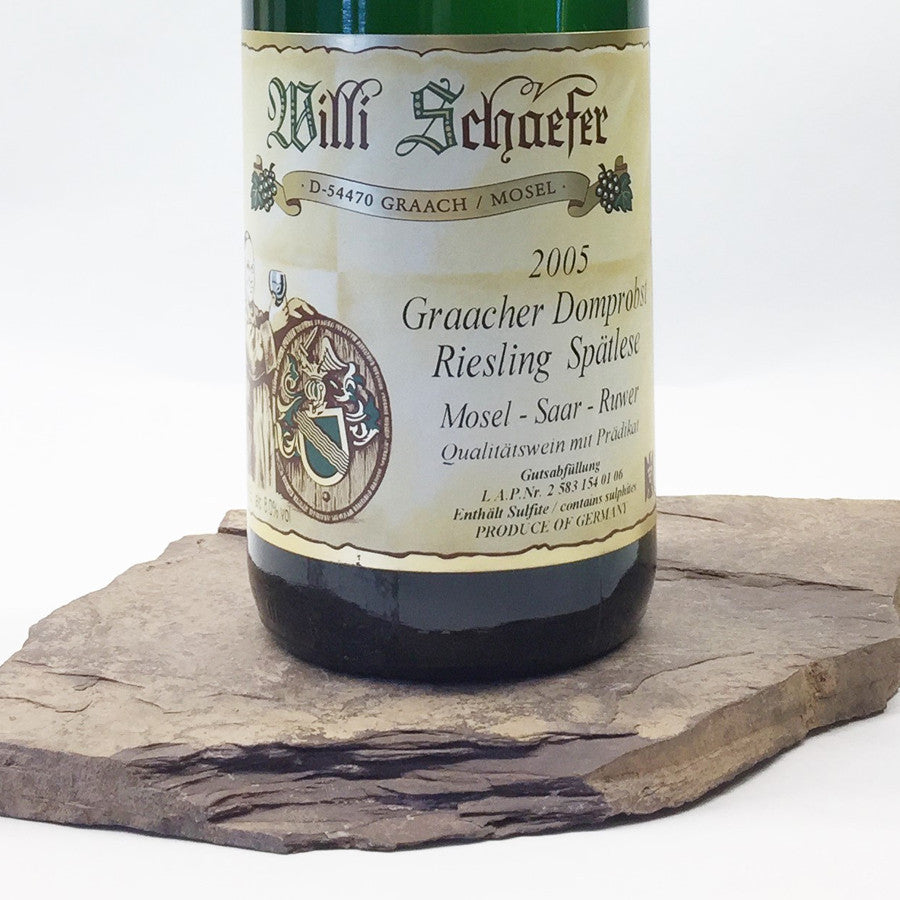 2005 WILLI SCHAEFER Graach Domprobst, Riesling Spätlese Auction