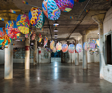 PROCESSES :: THE HANDS THAT BUILT AI WEIWEI'S ALCATRAZ EXHIBIT
