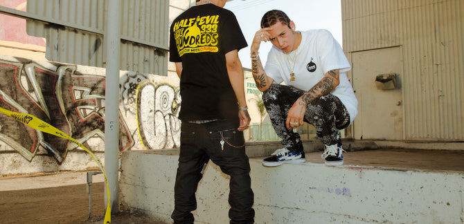 LOOKBOOK :: The Hundreds X Half Evil