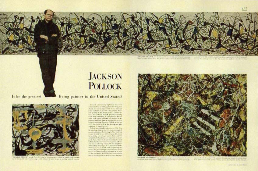 Triumph & Tragedy :: The Jackson Pollock Story