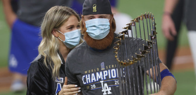 THE DODGERS ARE WORLD CHAMPS