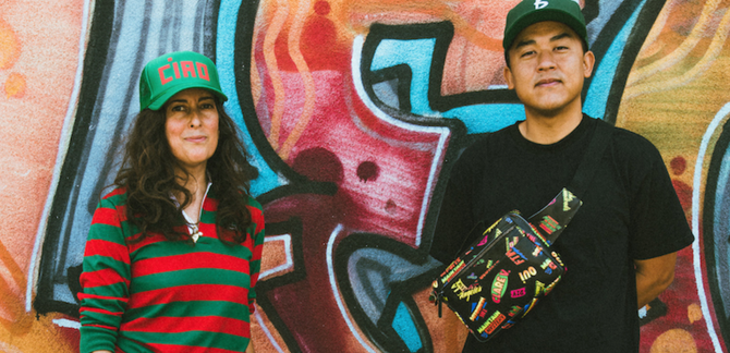 Bobby Hundreds and Clare V Have Written Similar Stories in Different Worlds