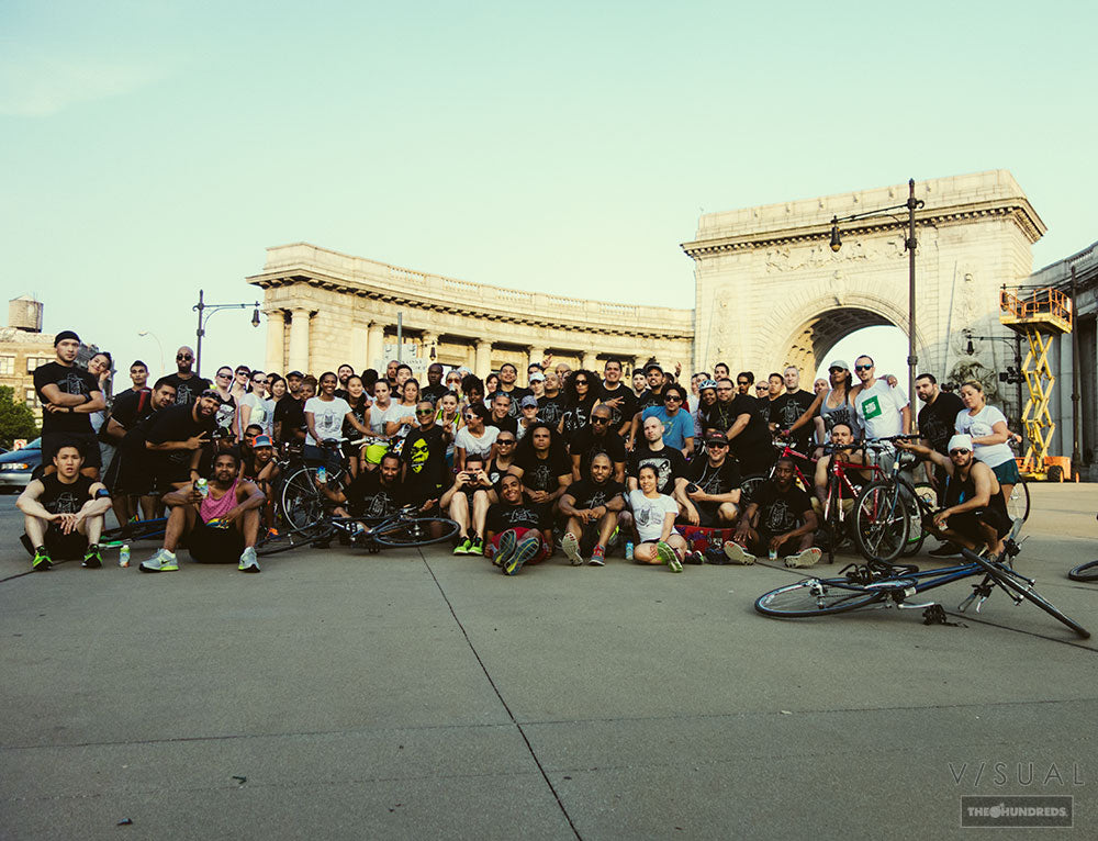 V/SUAL :: NYC BRIDGE RUNNERS X HAROLD HUNTER FOUNDATION