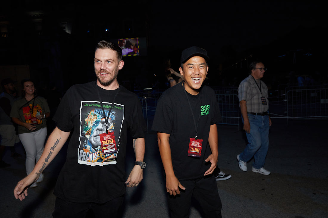 Bobby Hundreds Went to Universal Studios to See If Halloween Horror Nights Is Really Scary