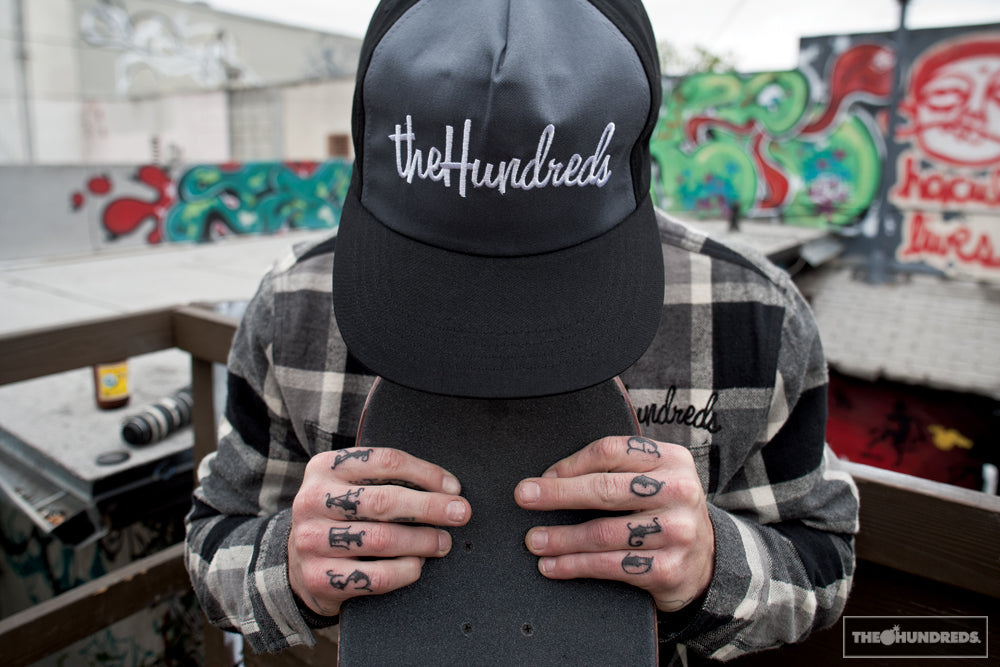 THE HUNDREDS FALL 2012 SKATE LOOKBOOK