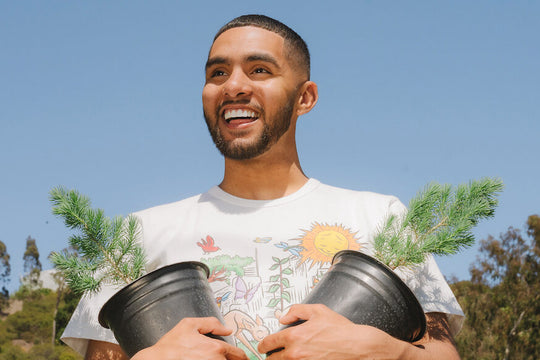 The Hundreds and Brother Nature are Planting Trees in Los Angeles for Earth Day