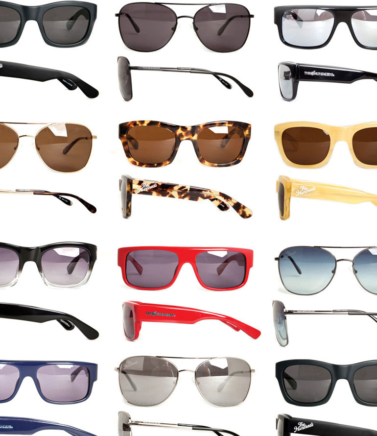 ODE TO OUR SUNGLASSES.
