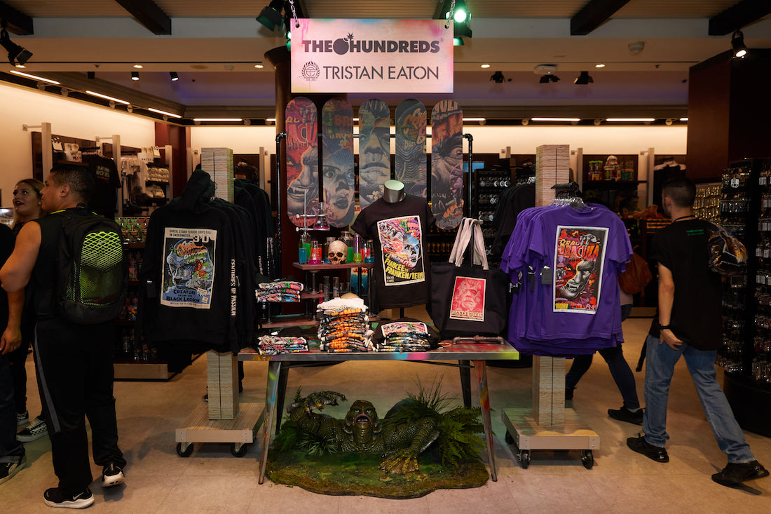 The Hundreds X Universal Monsters By Tristan Eaton Collection