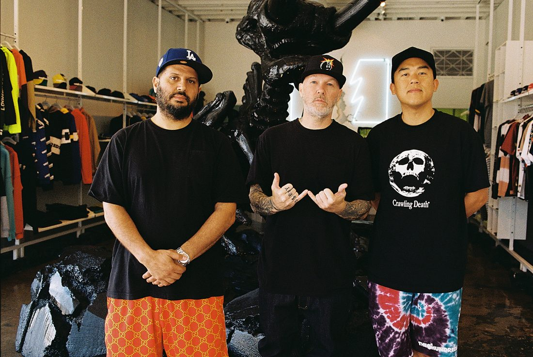 BEHIND THE SCENES :: The Hundreds X Osiris D3 Lookbook Shoot with Fred Durst