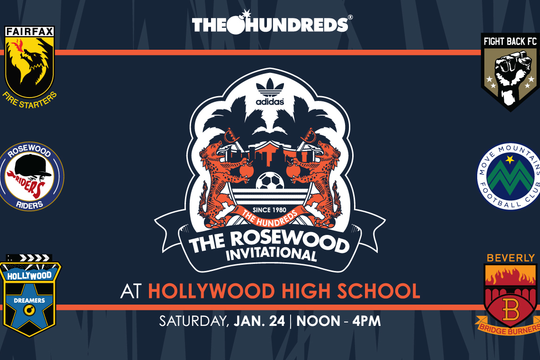 THE HUNDREDS X adidas :: RSWD INVITATIONAL SOCCER TOURNAMENT AT HOLLYWOOD HIGH SCHOOL