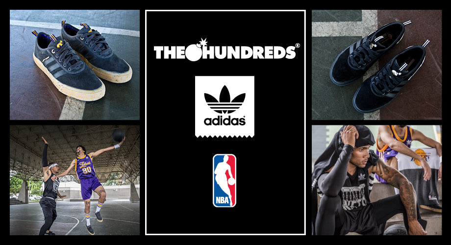 The Hundreds in Collaboration with adidas and The NBA Lookbook