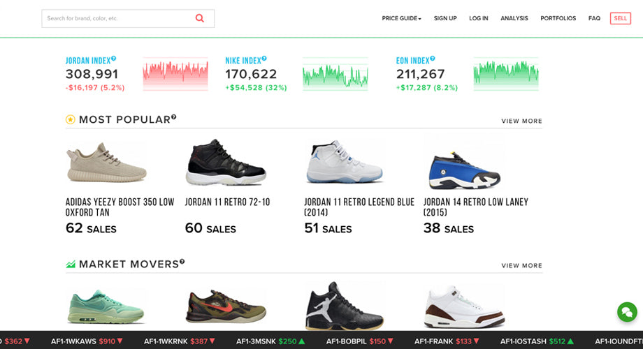 pretty nice 5d0a7 8ee6c A Stock Market for Sneakers? 10 Things You Need to Know ...
