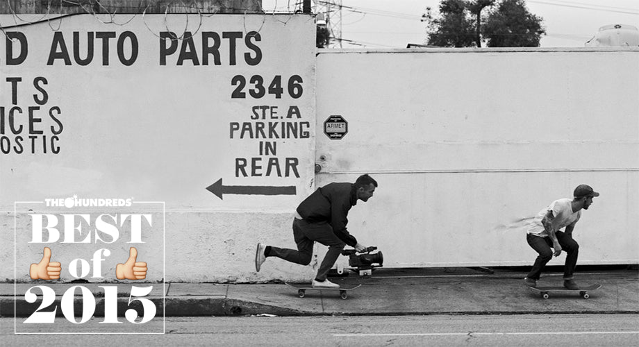 2015's Defining Moments in Skateboarding