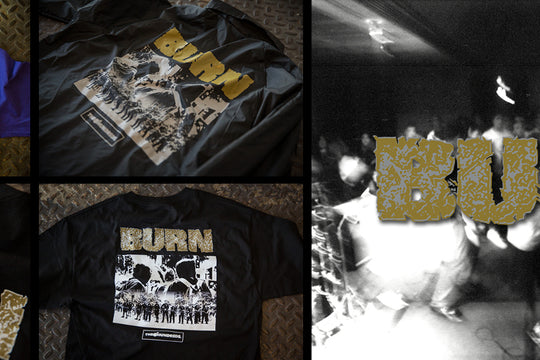 The Hundreds X BURN :: Available Now