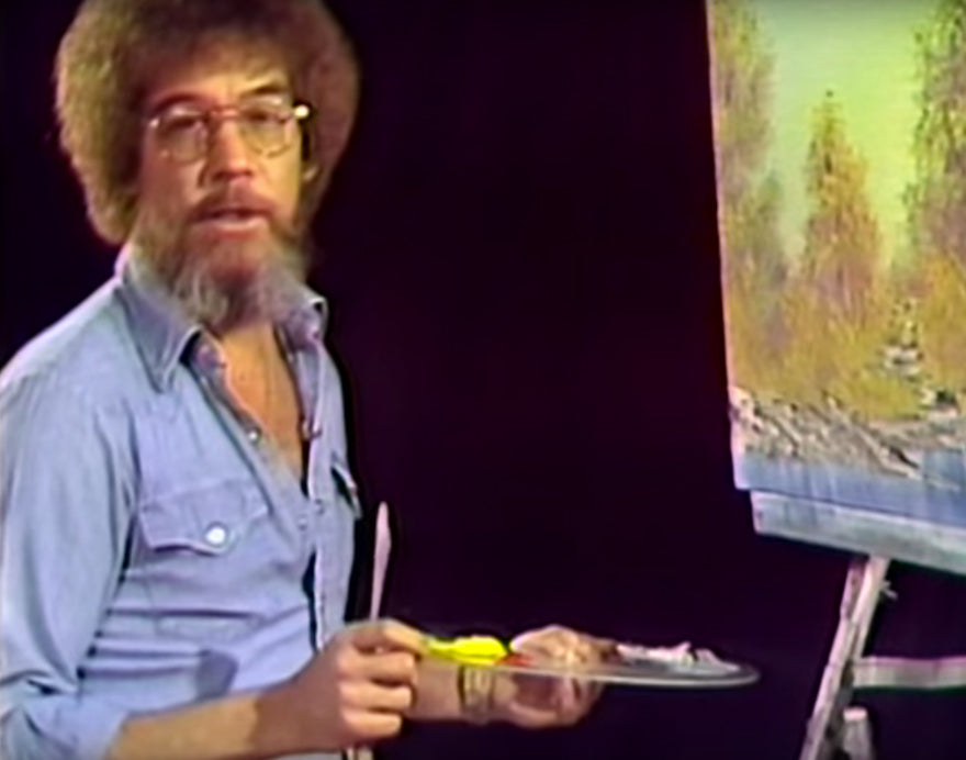 BOB ROSS'S VERY FIRST EPISODE
