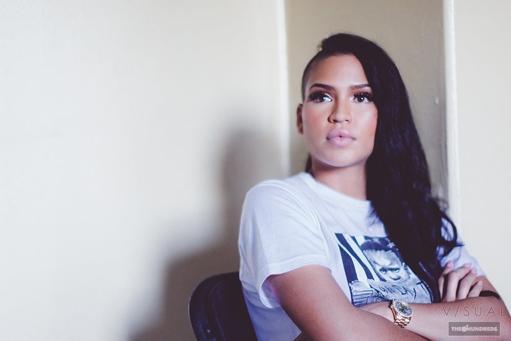 V/SUAL :: ON SET WITH CASSIE