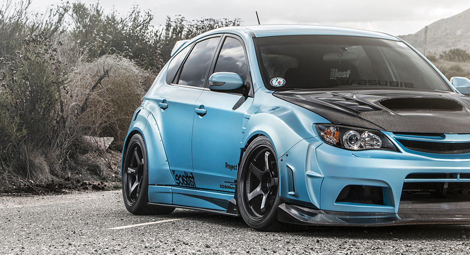 SUBARU LOVE :: VARIS WIDEBODY STI