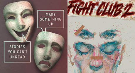 "Chuck Palahniuk Dropped ""Make Something Up"" & ""Fight Club 2"" in the Same Damn Week"
