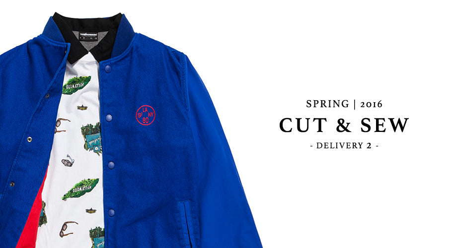 Available Now :: Spring 2016 D2 Cut and Sew