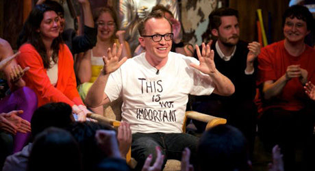 Keep Shouting 'Till They're Listening :: My Interview with Chris Gethard