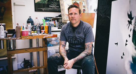In the Studio and Into the World of Artist Greg