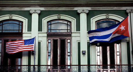 The Cuban Embassy Reopens in Washington D.C. After 54 Years