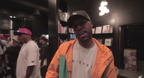 Video Recap :: Dom Kennedy's In-Store Signing at The Hundreds Los Angeles