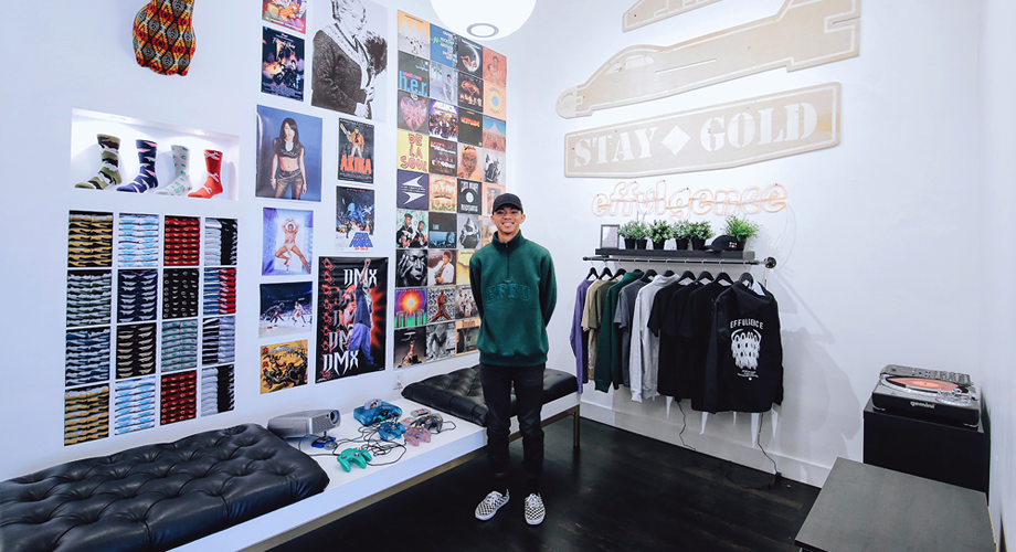 How My Brand Became the First to Have a Pop-Up Shop at Benny Gold